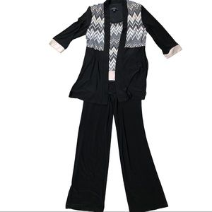 R&M Richards full outfit pant top & jacket